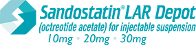 Sandostatin® LAR Depot (octreotide acetate) for injectable suspension for severe diarrhea and flushing associated with carcinoid syndrome.